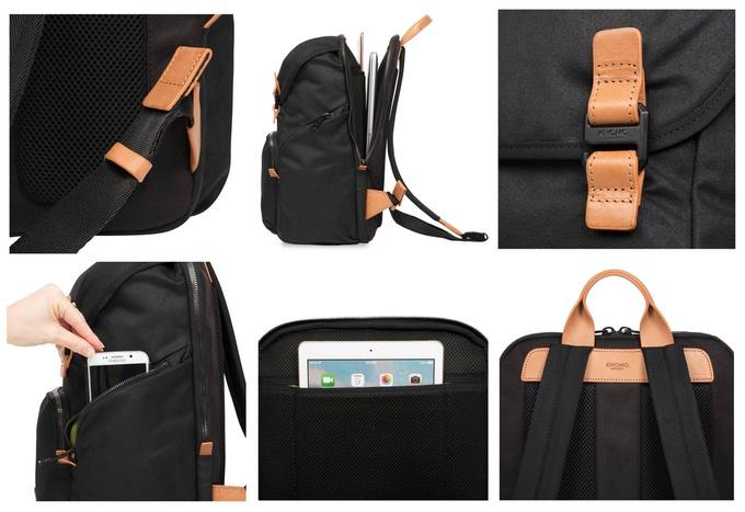 #LiveFree Backpack sings to digital nomads with wireless charging No ratings yet.