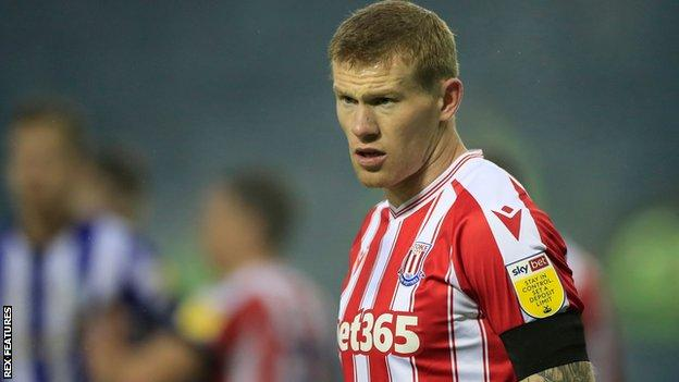 James McClean: Stoke suspend winger for alleged Covid guidelines breach