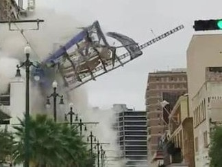 One dead, 20 injured after hotel collapse