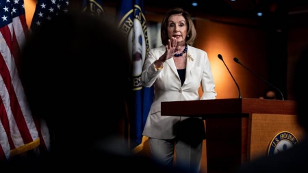 'Don't mess with me': House Speaker Pelosi rebukes reporter who asked if she hates Trump