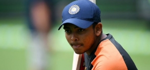 Prithvi Shaw bats in nets as selectors prepare to pick squads for NZ tour