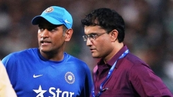 Sourav Ganguly refuses to comment on MS Dhoni omission from BCCI contracts