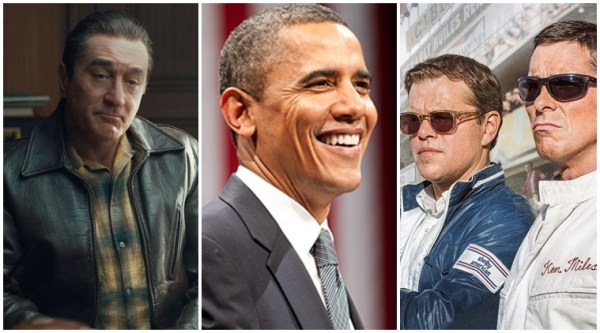 Barack Obama's favourite movies of 2019: Ford v Ferrari, The Irishman and others