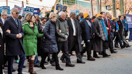 A major fear for US Democrats: Will the party come together by November?
