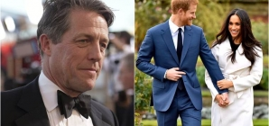 Hugh Grant on Prince Harry's decision to step back from royal duties: I'm rather on his side