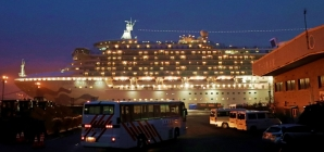 Criticism of Japan's effort on coronavirus cruise ship as passengers leave