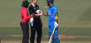 India vs New Zealand: KL Rahul, James Neesham involved in an argument at Bay Oval