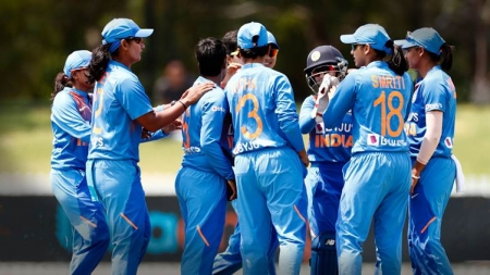Poonam Yadav's three wickets help India edge out West Indies in World Cup warm-up