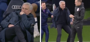 'Vintage Jose': Mourinho transforms from celebrating to raging within seconds during Tottenham vs City