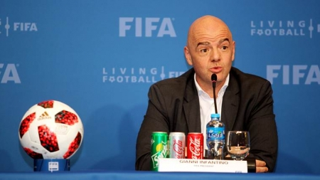 Gianni Infantino says football 'will be totally different' after coronavirus
