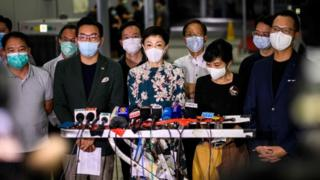 China security law 'could be end of Hong Kong'