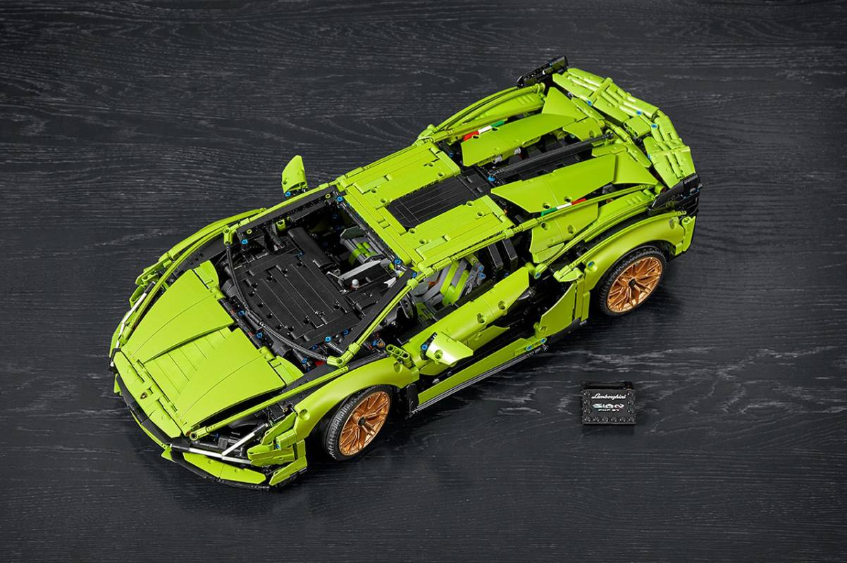 Epic LEGO Technic Lamborghini Sián FKP 37 building kit has nearly 3700 pieces No ratings yet.