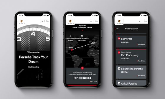 Porsche Track Your Dream lets buyers track their car from production to delivery<span class=