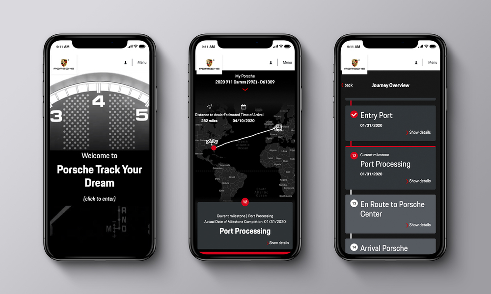 Porsche Track Your Dream lets buyers track their car from production to delivery No ratings yet.