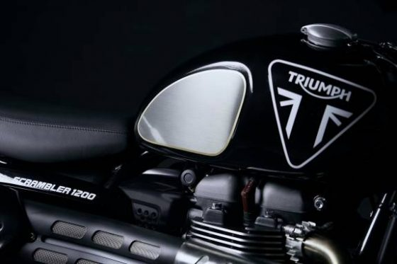 Triumph Scrambler 1200 Bond Edition is Agent 007's ride of choice<span class=