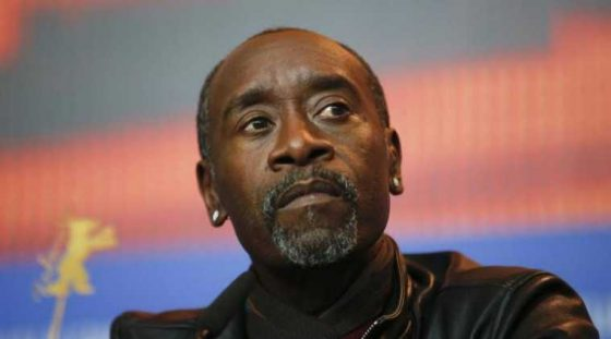 Don Cheadle says military has stopped him 'more times than we can count'