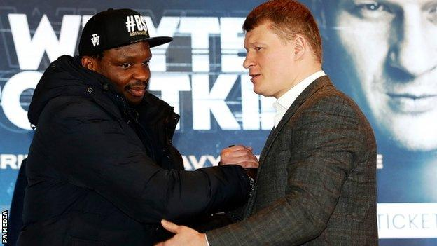 Dillian Whyte could face Tyson Fury before Anthony Joshua does, says Eddie Hearn