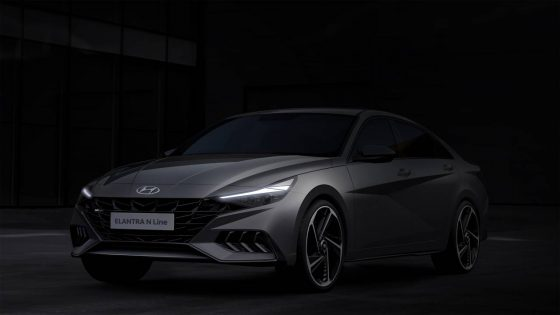 Hyundai unveils 2021 Elantra N Line renderings to smooth your appetite