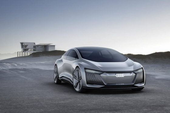 Audi A9 e-tron sloping as radical electric flagship for 2024