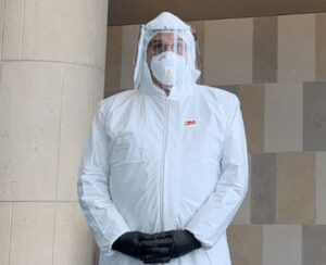 Florida Lawyer Shows Up To Federal Court In Full Hazmat Suit