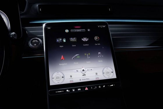New Mercedes S-Class MBUX infotainment goes touchscreen complicated with large expansion