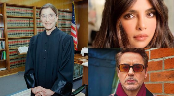 Mindy Kaling, Robert Downey Jr, Priyanka Chopra and others compensate reverence to Ruth Bader Ginsburg