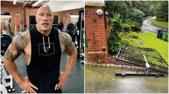 Dwayne Johnson rips off a steel embankment with unclothed hands, channels his middle Black Adam