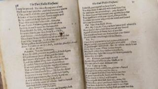 Edition of Shakespeare's last play found in Scots college in Spain