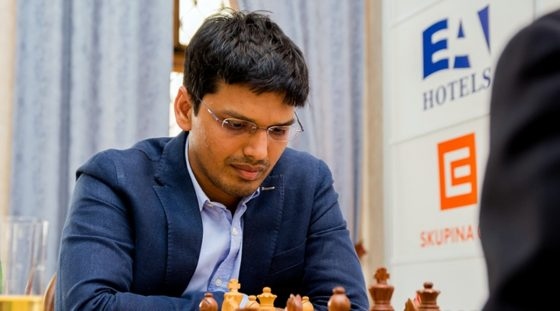 P Harikrishna stuns Magnus Carlsen but later suffers four losses