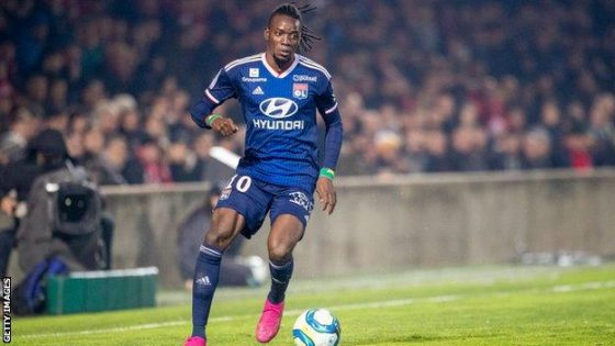Bertrand Traore: Aston Villa sign Lyon forward for £17m
