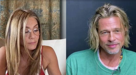 Jennifer Aniston and Brad Pitt reunite for a good cause