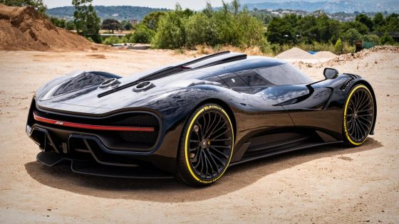 Ares S Project is a 705HP Chevy C8 Corvette with supercar styling<span class=