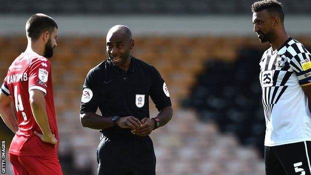 Referee Sam Allison on enlivening some-more BAME officials and his possess certain experiences
