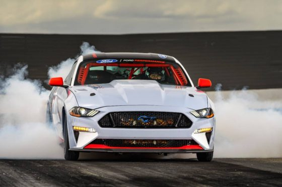 Ford's all-electric Mustang Cobra Jet 1400 will debut at the NHRA U.S. Nationals<span class=