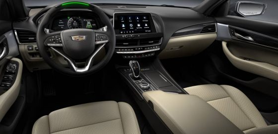 The 2021 Cadillac CT4 and CT5 are leveling up on tech<span class=