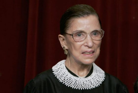 Banana Republic Is Re-Releasing Justice Ruth Bader Ginsburg's Dissent Collar