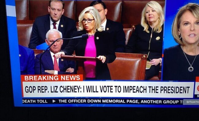 Republican Liz Cheney Will Vote to Impeach Donald Trump [Update]