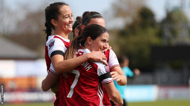 Arsenal hit 10 and West Ham score 11 in Women's FA Cup fourth-round goal feast