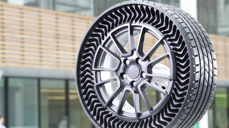 Michelin shows off the airless Uptis tire propitious to a MiniNo ratings yet.