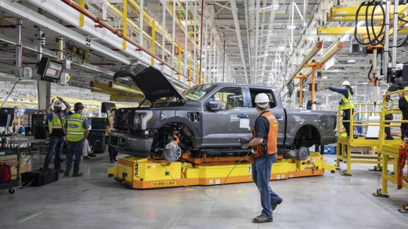 Ford tackles F-150 Lightning prolongation boundary as initial exam EVs arriveNo ratings yet.